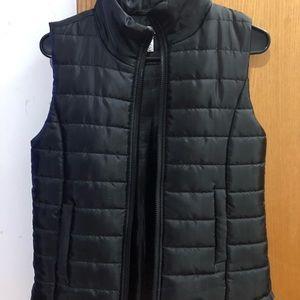 Jackets & Blazers - Black puffy vest